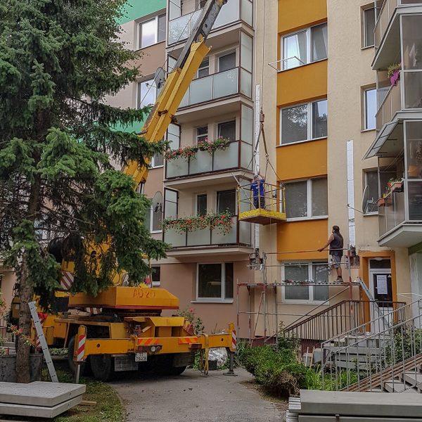 Rekonštrukcia bytovky