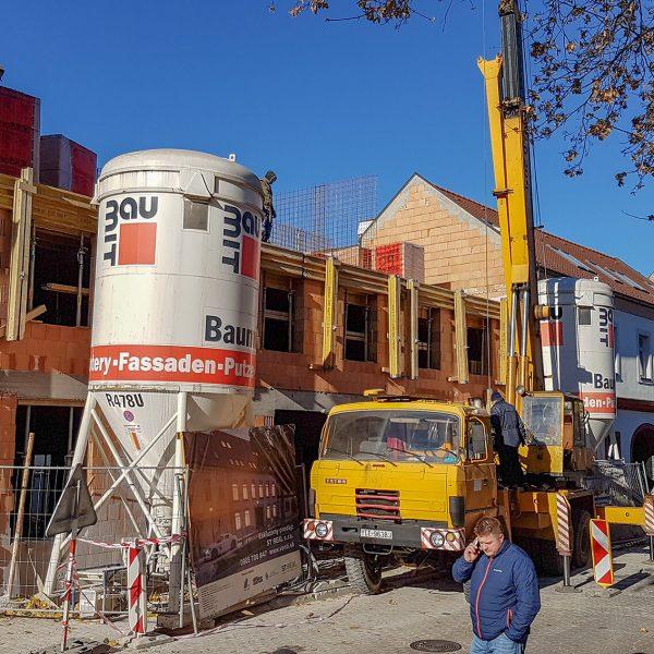 Výstavba domu v centre Trnavi