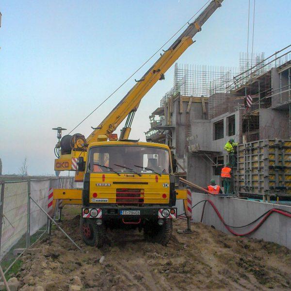 Výstavba bytového komplexu Arbória